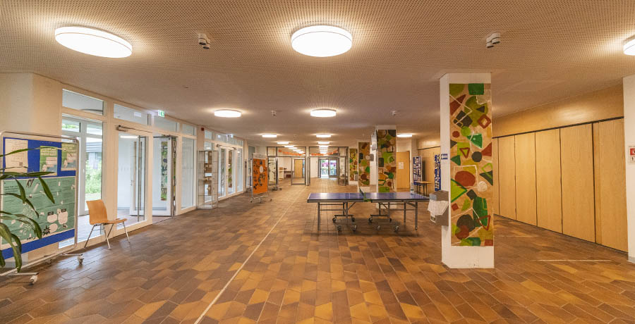 elwaco Projekte 2018 - BB-Gymnasium - nachher